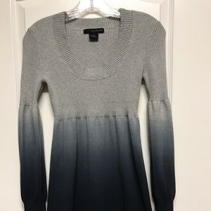 Gray sweater dress by Calvin Klein Jeans